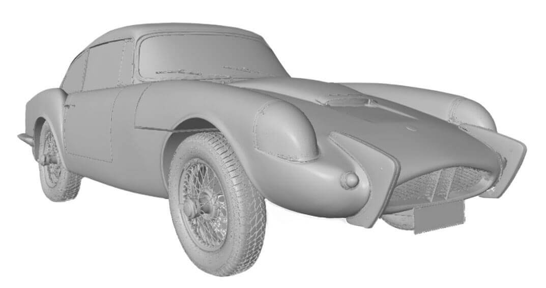 3D scan of a classic Sabra car