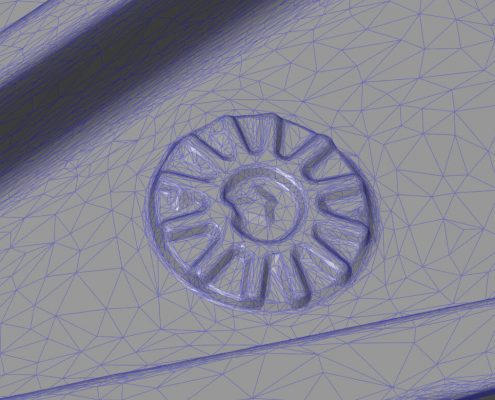 casted part scan details