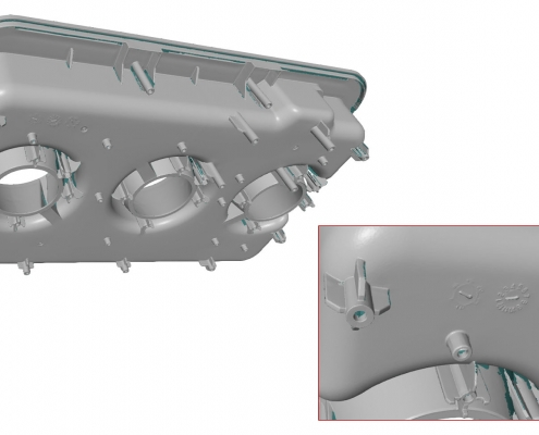 3D Scan STL of the water reservoir