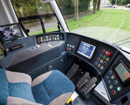 Tram Cockpit