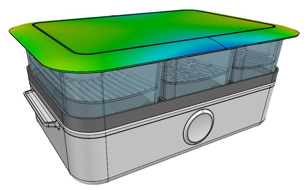 Color Compare, Deviations to CAD